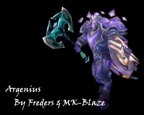 Recopilación de modelos de World of Warcraft para Warcraft III Argenius