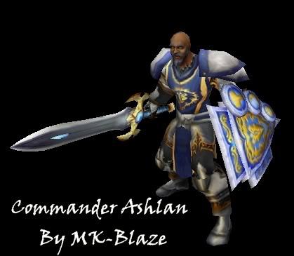 Recopilación de modelos de World of Warcraft para Warcraft III Ashlan
