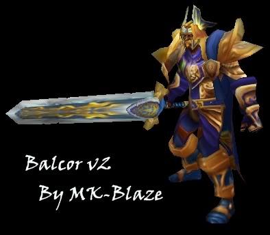 Recopilación de modelos de World of Warcraft para Warcraft III BalcorV2