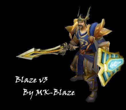 Recopilación de modelos de World of Warcraft para Warcraft III Blazev3