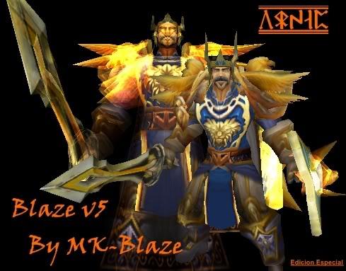 Recopilación de modelos de World of Warcraft para Warcraft III Blazev5