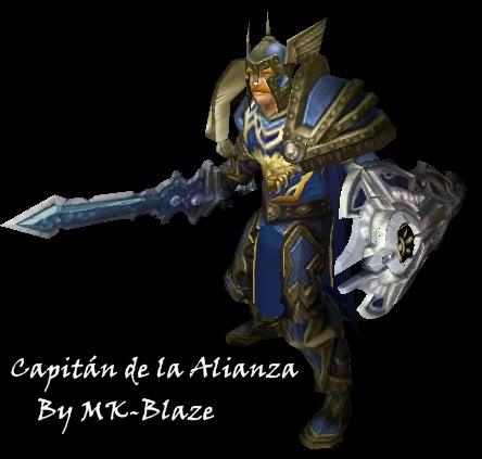 Recopilación de modelos de World of Warcraft para Warcraft III CapitanAlianza