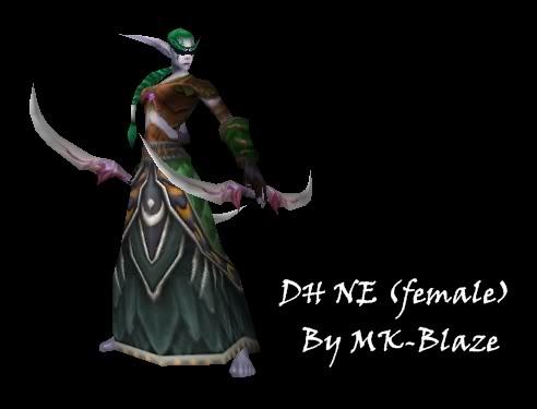 Recopilación de modelos de World of Warcraft para Warcraft III DHNE
