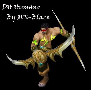 Recopilación de modelos de World of Warcraft para Warcraft III DHhum