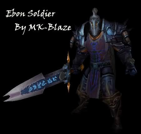 Recopilación de modelos de World of Warcraft para Warcraft III EbonSoldier