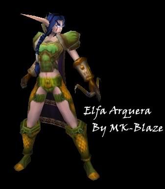 Recopilación de modelos de World of Warcraft para Warcraft III ElfaArquera