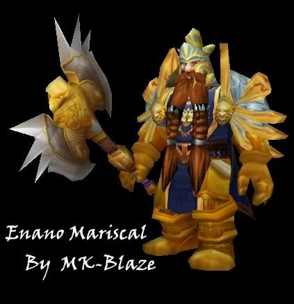 Recopilación de modelos de World of Warcraft para Warcraft III EnanoMarshal