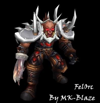 Recopilación de modelos de World of Warcraft para Warcraft III FelOrc-1