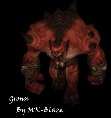 Recopilación de modelos de World of Warcraft para Warcraft III Gronn-1