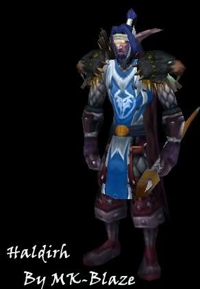 Recopilación de modelos de World of Warcraft para Warcraft III Haldirh
