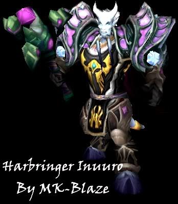 Recopilación de modelos de World of Warcraft para Warcraft III Harbringer