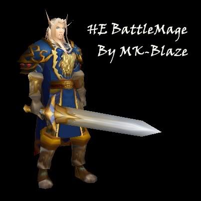 Recopilación de modelos de World of Warcraft para Warcraft III HeBattleMage