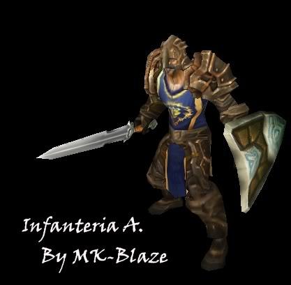 Recopilación de modelos de World of Warcraft para Warcraft III InfantBlaze