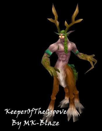 Recopilación de modelos de World of Warcraft para Warcraft III Keeper