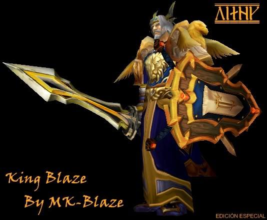 Recopilación de modelos de World of Warcraft para Warcraft III KingBlaze
