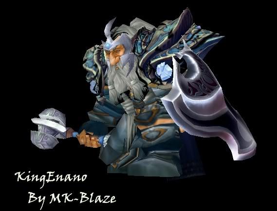 Recopilación de modelos de World of Warcraft para Warcraft III KingEnano