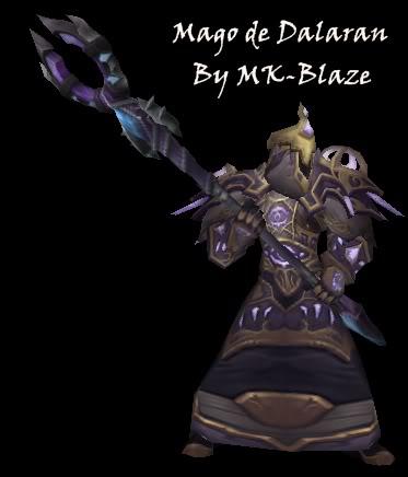 Recopilación de modelos de World of Warcraft para Warcraft III MagoDalaran
