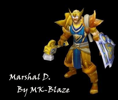 Recopilación de modelos de World of Warcraft para Warcraft III MarshalD