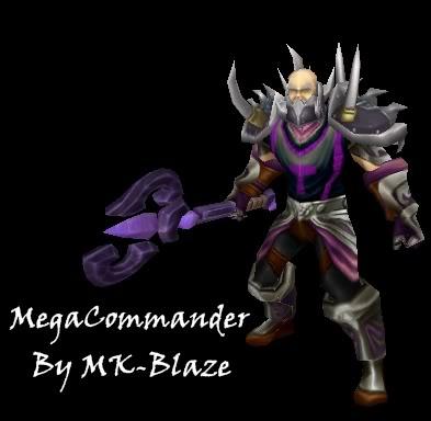 Recopilación de modelos de World of Warcraft para Warcraft III MegaCom