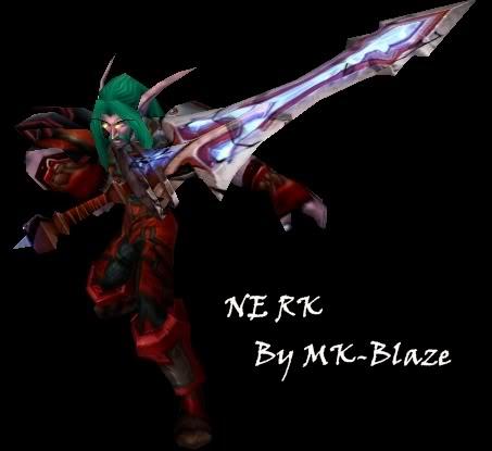 Recopilación de modelos de World of Warcraft para Warcraft III NERK
