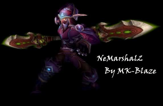 Recopilación de modelos de World of Warcraft para Warcraft III Nemarshal2