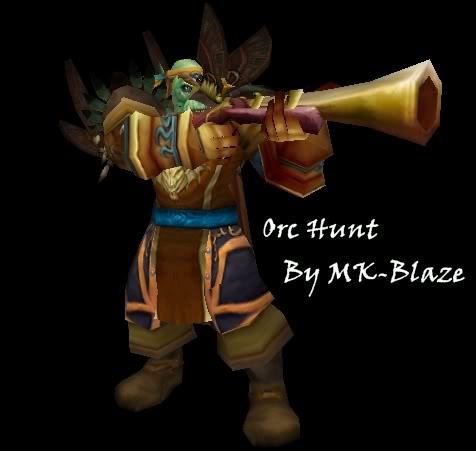 Recopilación de modelos de World of Warcraft para Warcraft III OrcHunt