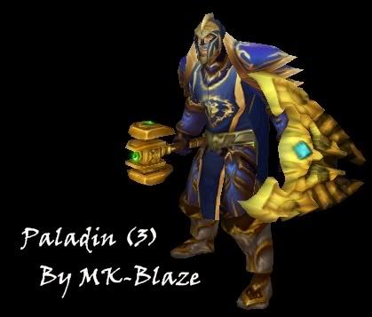 Recopilación de modelos de World of Warcraft para Warcraft III Paladin3