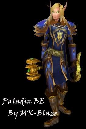 Recopilación de modelos de World of Warcraft para Warcraft III PaladinBE