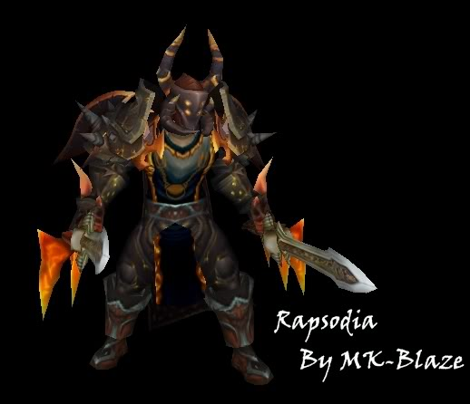 Recopilación de modelos de World of Warcraft para Warcraft III Rapsodia