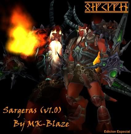Recopilación de modelos de World of Warcraft para Warcraft III Sargv1