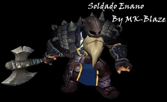 Recopilación de modelos de World of Warcraft para Warcraft III SoldadoEnano
