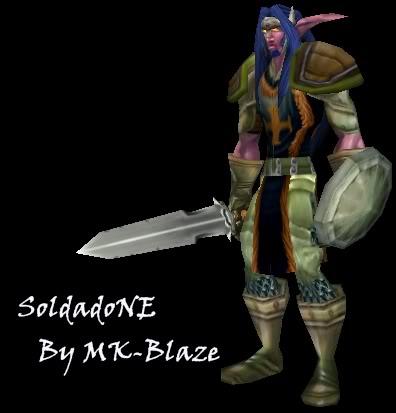 Recopilación de modelos de World of Warcraft para Warcraft III SoldadoNE