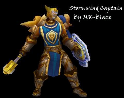 Recopilación de modelos de World of Warcraft para Warcraft III Swcaptain