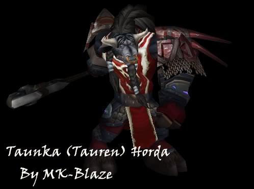 Recopilación de modelos de World of Warcraft para Warcraft III TaunkaHorda
