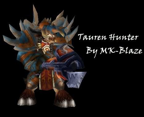 Recopilación de modelos de World of Warcraft para Warcraft III TaurenAs