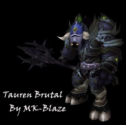 Recopilación de modelos de World of Warcraft para Warcraft III TaurenBrutal2