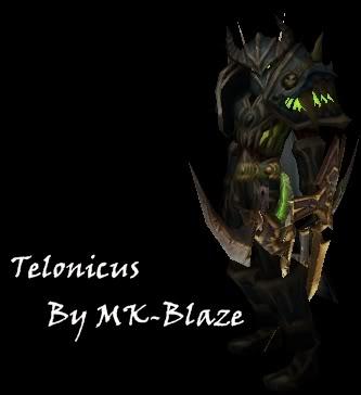 Recopilación de modelos de World of Warcraft para Warcraft III Telonicus