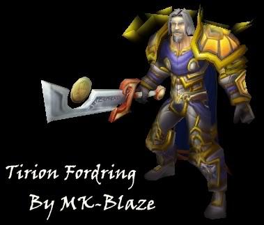 Recopilación de modelos de World of Warcraft para Warcraft III Tirion