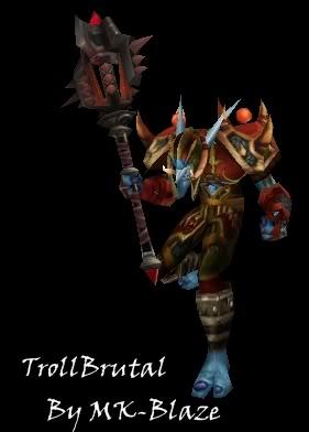 Recopilación de modelos de World of Warcraft para Warcraft III TrollBrutal