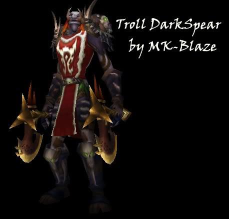 Recopilación de modelos de World of Warcraft para Warcraft III TrollDarkspear