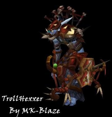 Recopilación de modelos de World of Warcraft para Warcraft III TrollH