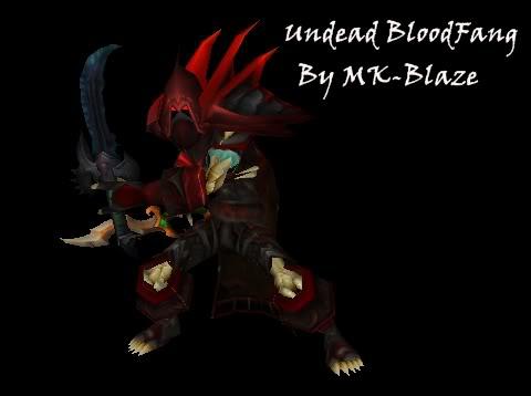 Recopilación de modelos de World of Warcraft para Warcraft III UndeadBloodfang