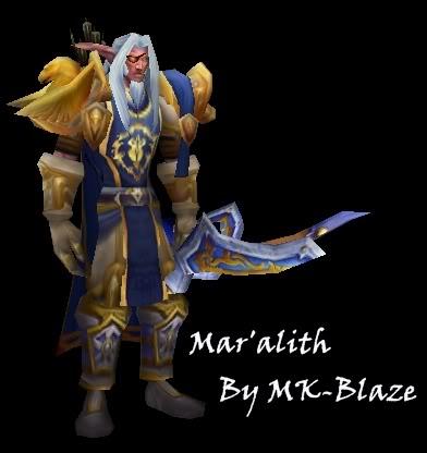Recopilación de modelos de World of Warcraft para Warcraft III Maralith
