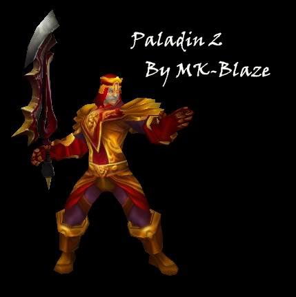 Recopilación de modelos de World of Warcraft para Warcraft III Paladin2