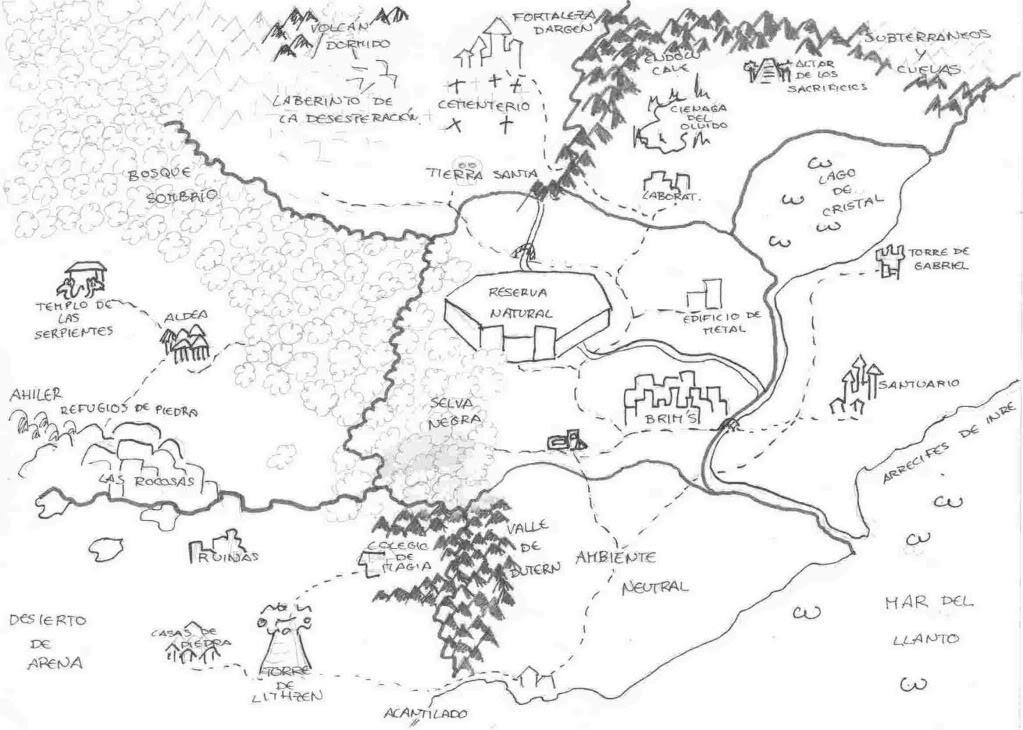 Mapa de Creepy Hollow Imagen