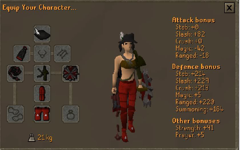 Wearing this back in the day Runescape-3