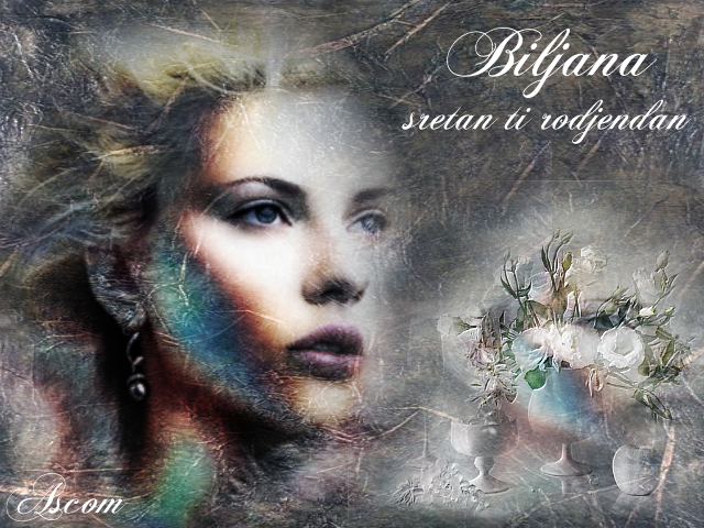 Biljana, sretan ti rodjendan RodjendanskazaBiljanu