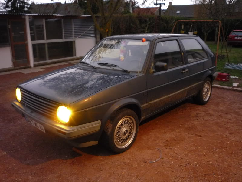 Golf 2 1600D daily projet Oldschool P1010640
