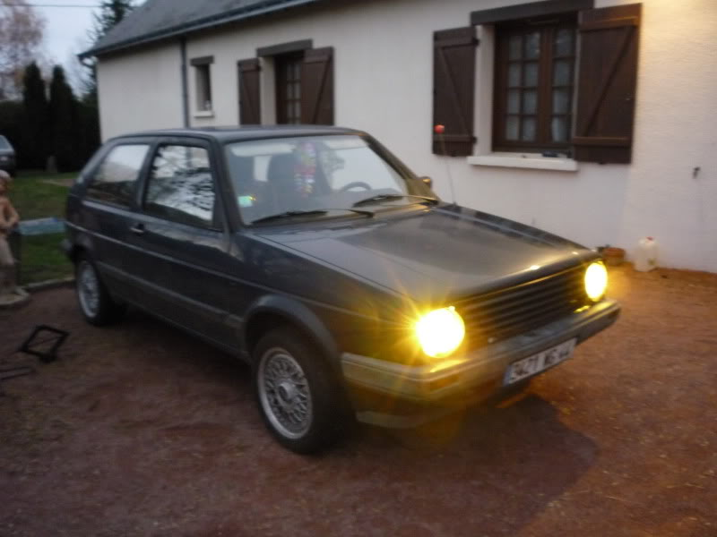 Golf 2 1600D daily projet Oldschool P1010641