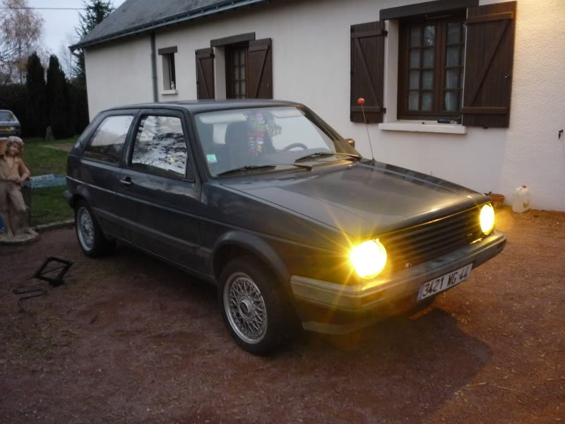 Golf 2 1600D daily projet Oldschool P1010642